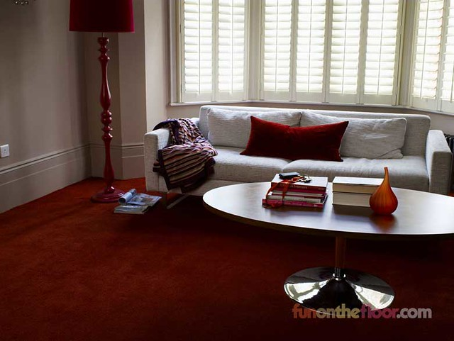 Main living room red carpet for How to carpet a room