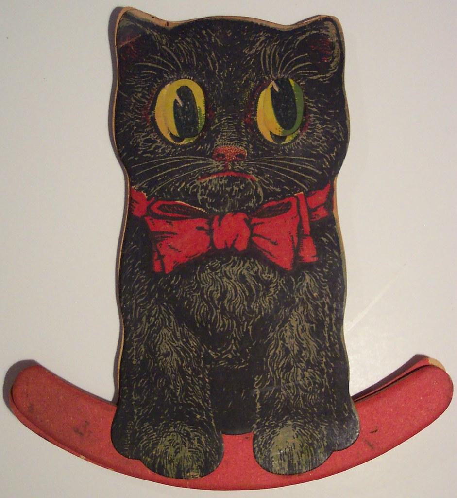 Vintage Black Cat Halloween Germany