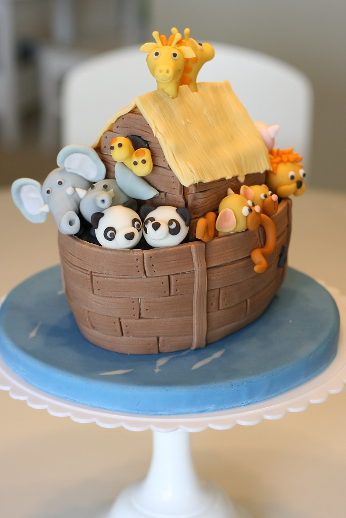 Noah S Ark Cake Noah S Ark Cake From Debbie Brown S 50