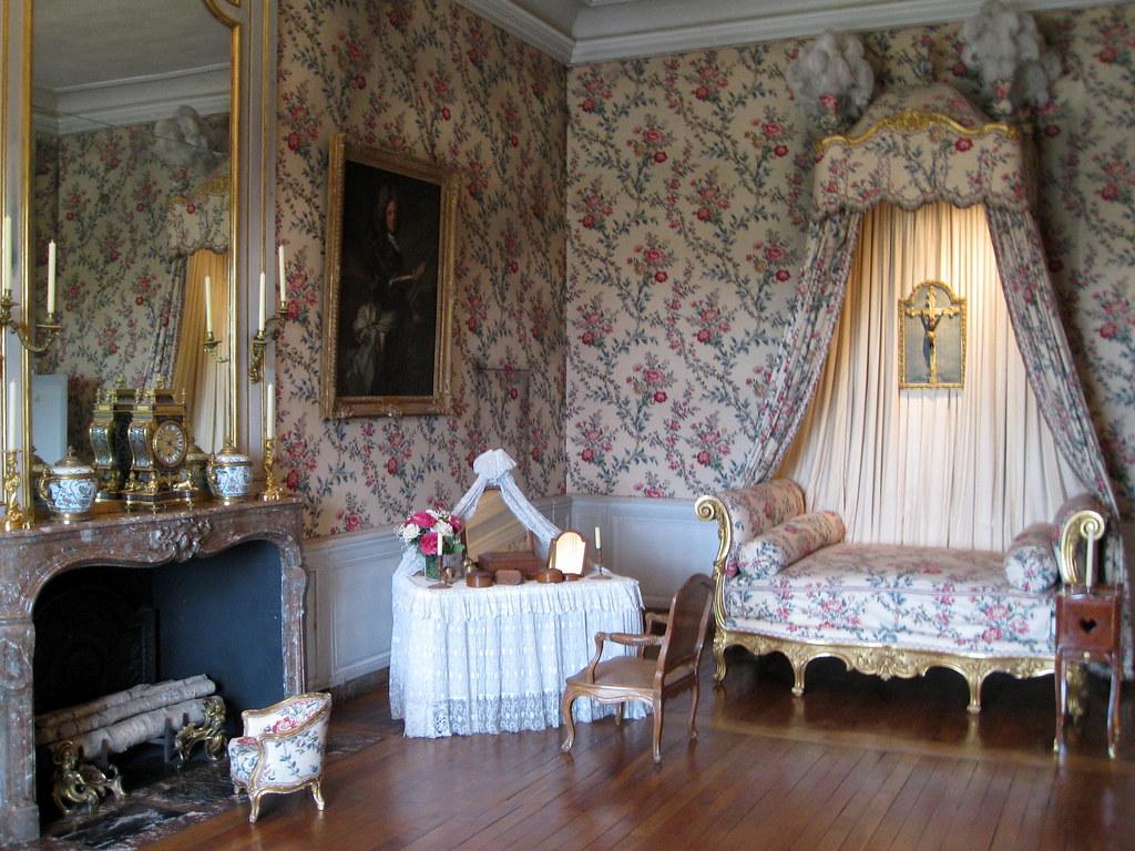 Louis Xv Bedroom Chateau Vaux Le Vicomte France Nicola Flickr