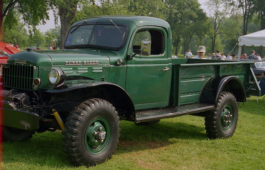 1968 Dodge Power Wagon Pickup Start Of The Roll