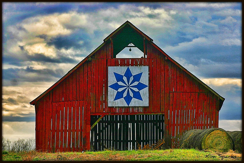 Barn Art 5 | Well, so far this is my favorite one. Perhaps ...