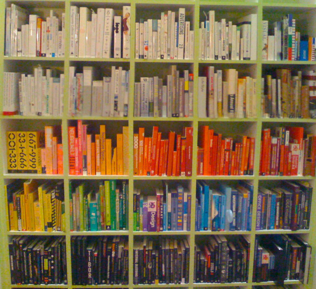 Colorful Book Room: Ridiculous But Fun. Www