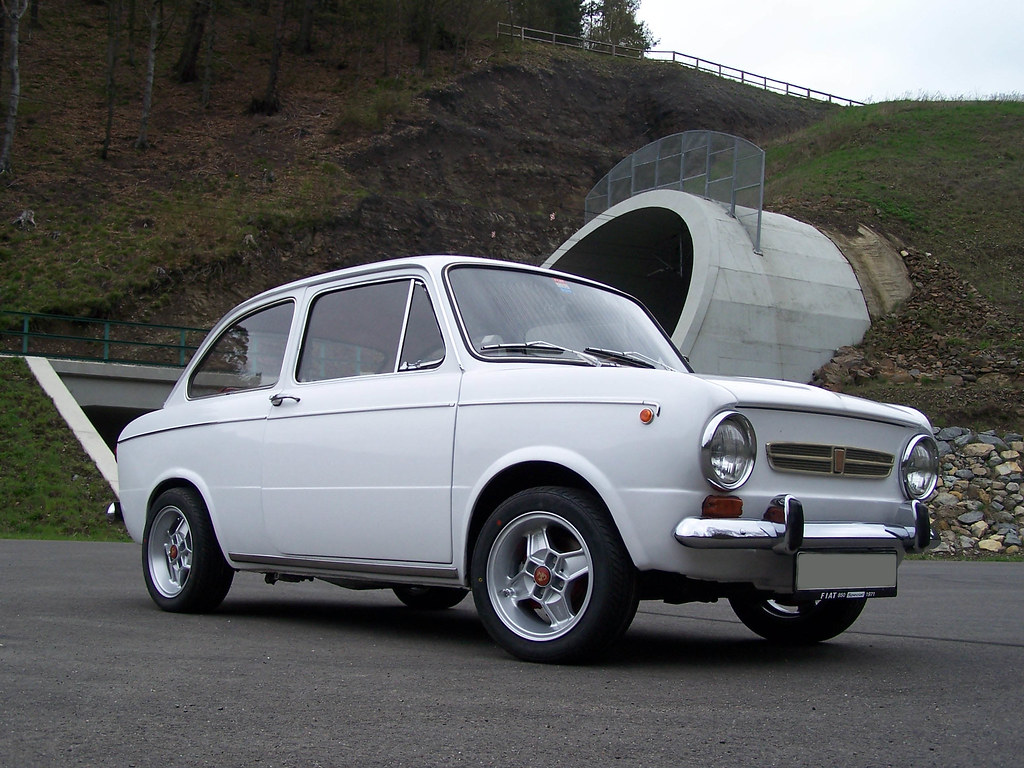 fiat 850 special with abarth wheels what do you think flickr. Black Bedroom Furniture Sets. Home Design Ideas