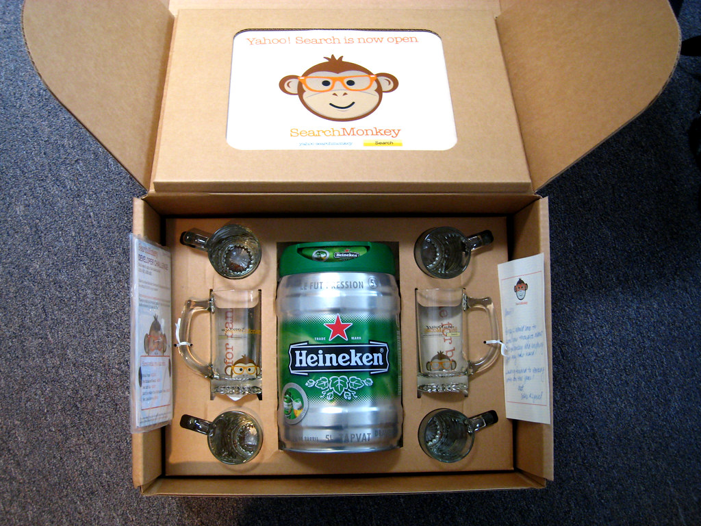 "Yahoo! ""Happy hour in a box"" 