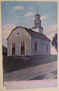 Vintage Postcard Old Palatine Church New York | by riptheskull