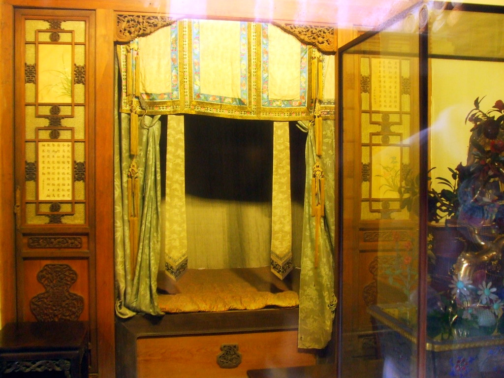 Feng Shui Bedroom Map Forbidden City Concubines Palaces The Emperor S Intim
