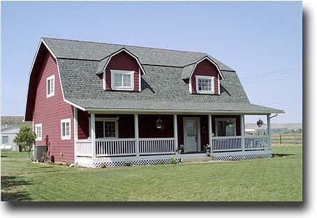 Gambrel Roof Barn House Flickr