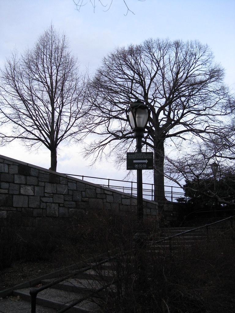Entrance Central Park Reservoir Central Park Reservoir