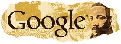 Martin Luther King Day Logo '09 Google | by rustybrick