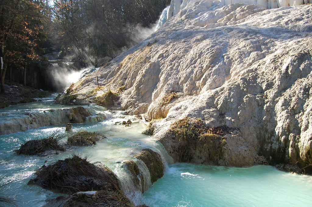 Bagni san filippo si le sorgenti calde del fosso bianc - Bagni di san filippo inverno ...