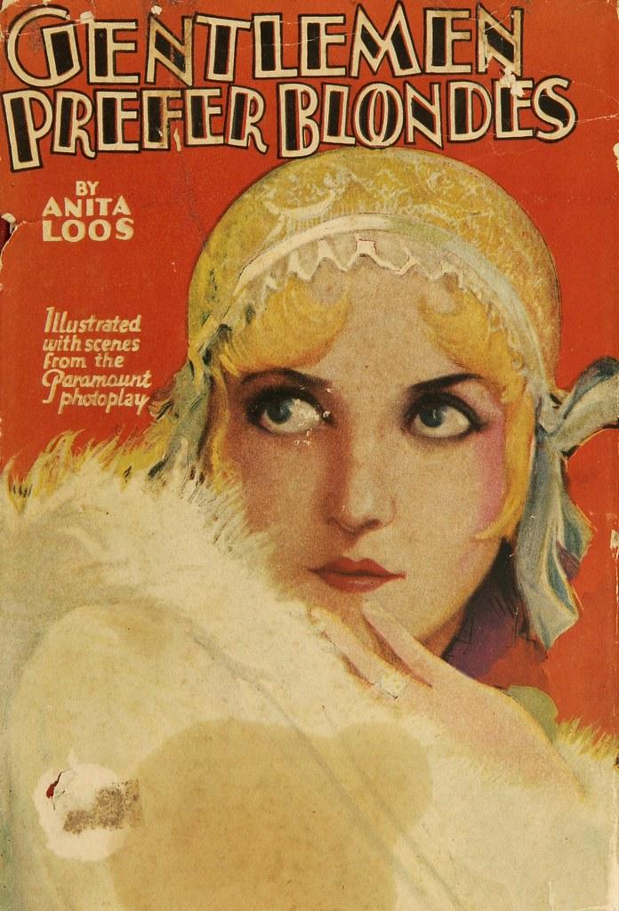 Gentlemen Prefer Blondes 1928 Photoplay Book Cover  Flickr-8579