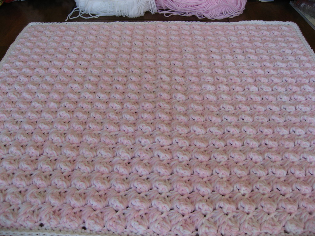 Quick & Easy Crochet Baby Blanket | This is a very easy ...
