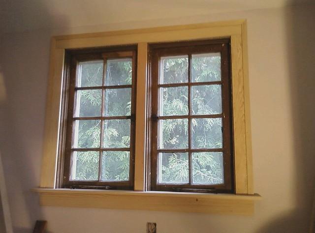 Window Trim My Attempt At Carpentry Uosɐɾ ɹnɥʇɹɐɔɯ