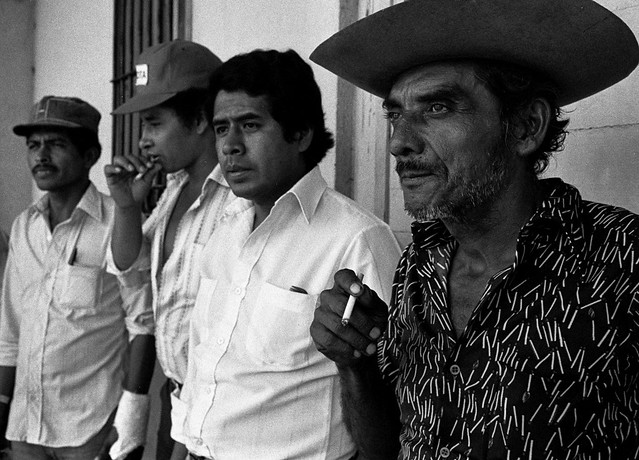 Campesino leaders, El Salvador, 1982 -1 | by Marcelo  Montecino