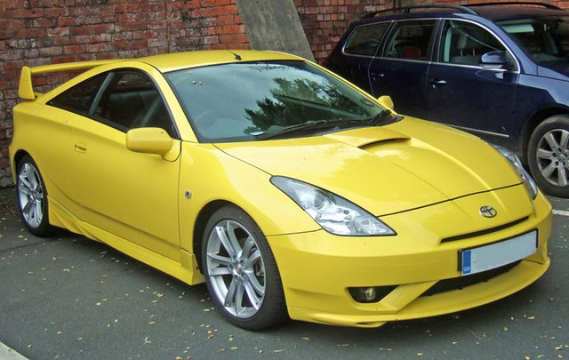 Yellow Toyota Celica 1 Carl Spencer Flickr
