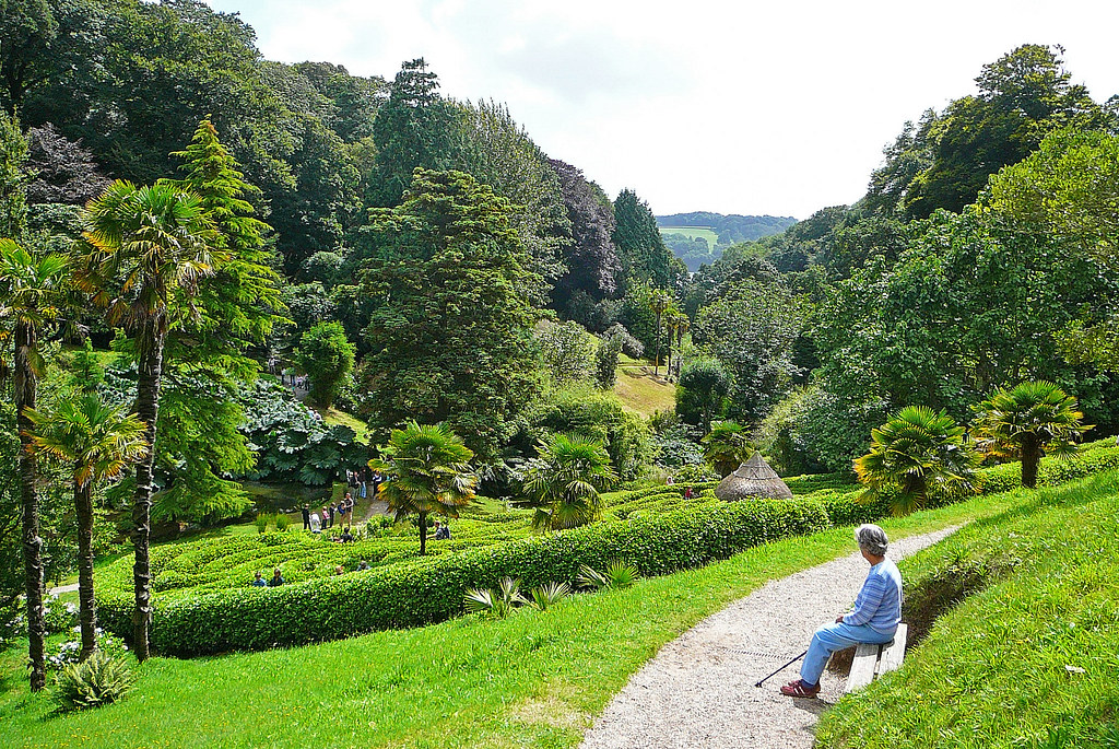 Glendurgan 1 glendurgan falmouth cornwall being for Gardening jobs cornwall