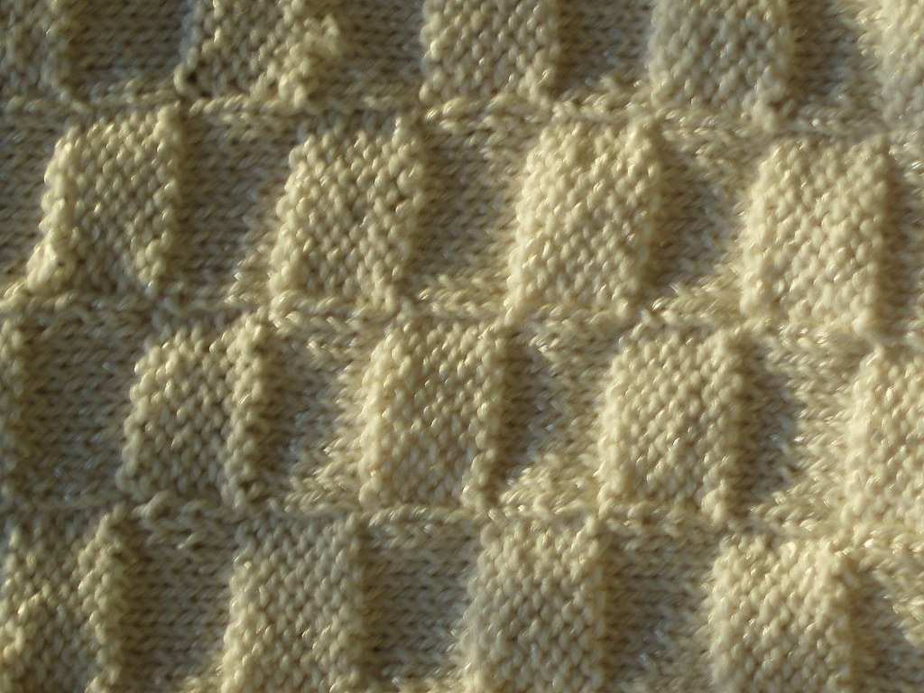 Basket Weaving O Que é : Basket weave blanket sun and shadow a lovely structure
