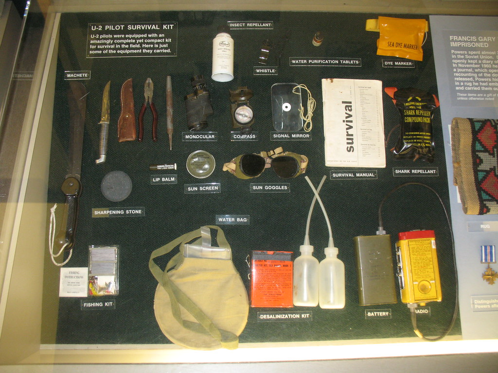 Survival Kit U 2 Pilot Survival Kit Including Machete