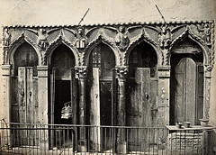 Evangelist Windows of a House at the Ponte del Forner, San Cassano, Venice
