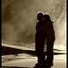 Silhouetted Affection.