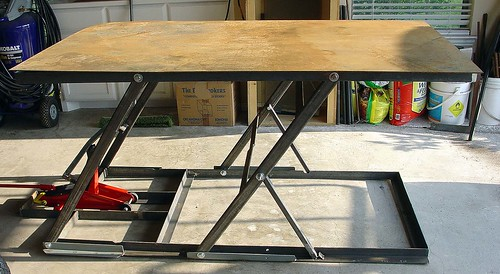 Lifting Welding Table By J Costellow Flickr Photo