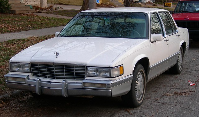 1991 Cadillac Deville White W Grey Interior This Good