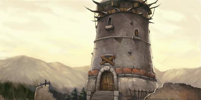 Prison Tower Fantasy Art And Portraits Showcases The Art