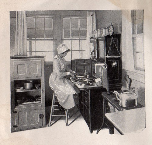 Mrs Christine Frederick... in the Applecroft Experiment Kitchen | by cluttershop