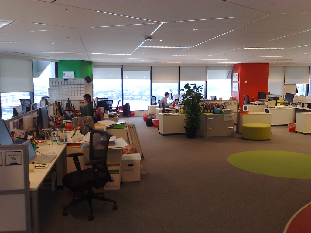 office of google. sydney google office inside the of chris betcher flickr