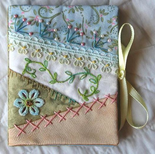 How To Make A New Book Cover : Cq needle book kathy flickr