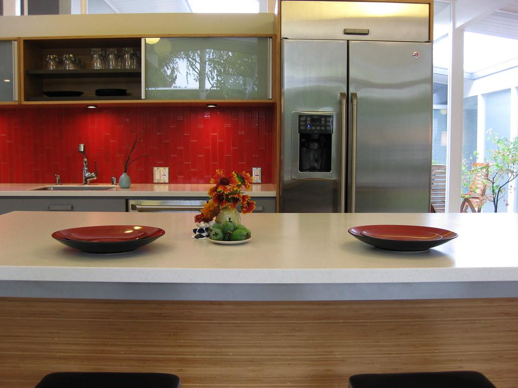 Corian Tiles Kitchen