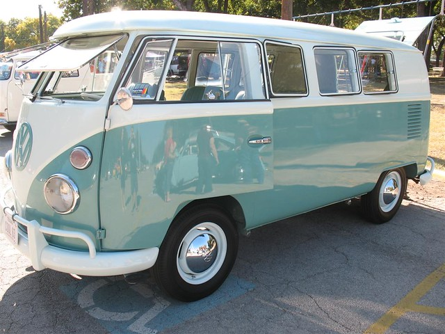 Mint Green and White Two Tone 1963 VW Bus in Fort Worth, T ...