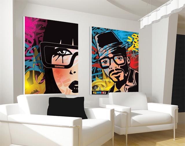 SMIG Urban Pop Art Flickr Photo Sharing