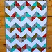 Little Apples Chevron/Zigzag Quilt