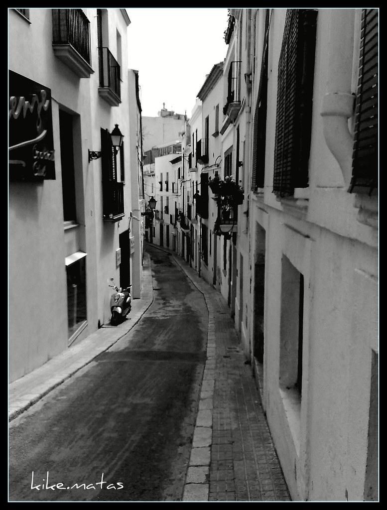 Casco antiguo de sitges barcelona fotografia realizada - Casco antiguo de barcelona ...
