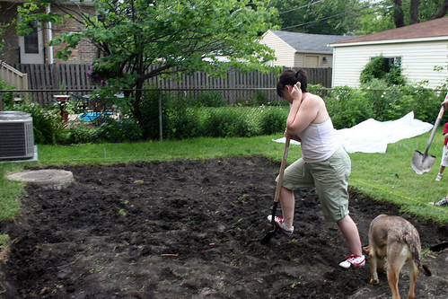 Digging for a Patio | by Nicole Balch