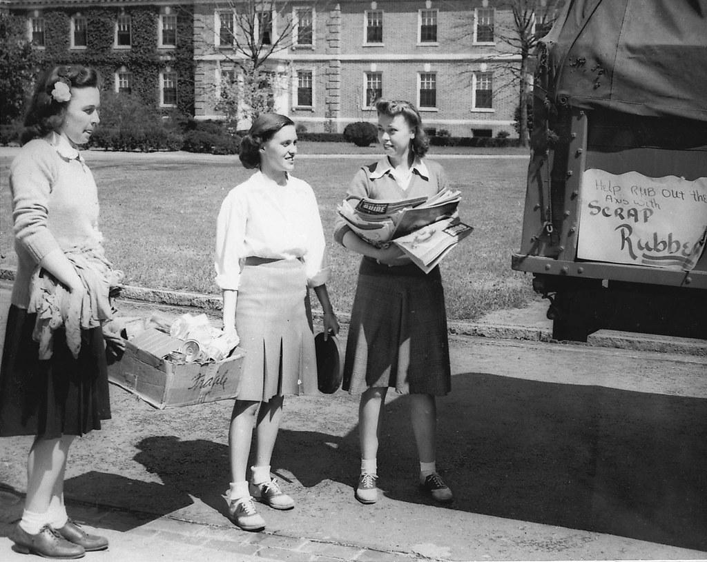 Cs8 Scrap Collecting Wwii 1940s Repository Duke