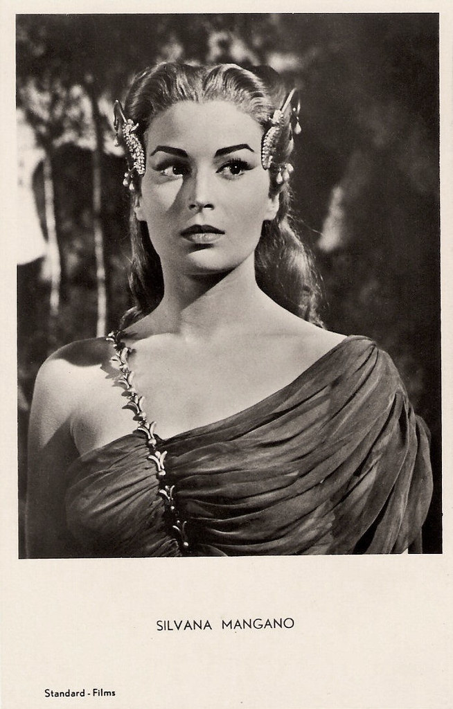 Silvana Mangano Dutch Postcard No 34 Photo Standard