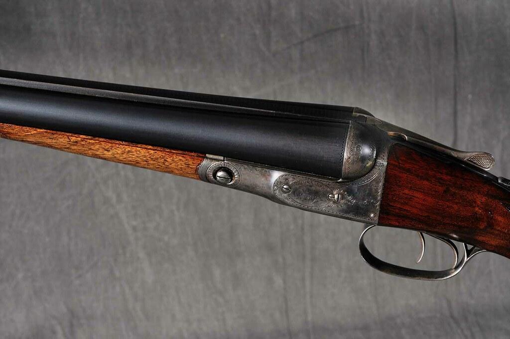 Parker shotgun nice parker side by side double barrel for Side by side einbauger t