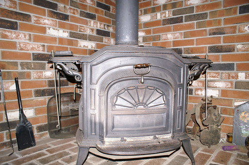 Cast iron wood stove | by WNPR - Connecticut Public Radio
