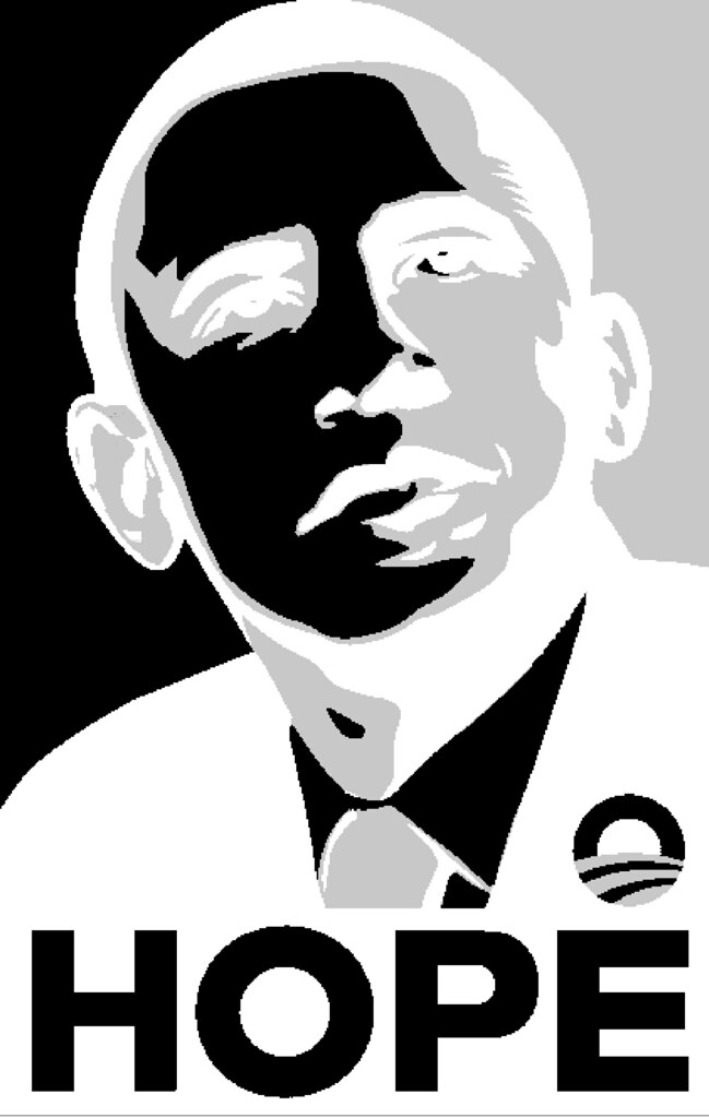 obama hope stencil after many requests here is the