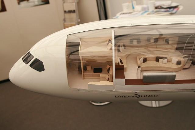 ... Boeing 787 Dreamliner Interior ILA2008 [Germany]   By Lukakow