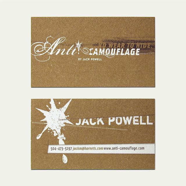 Anti camo business card cranky pressman flickr anti camo business card by cranky pressman colourmoves