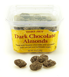Trader Joe's Dark Chocolate Almonds | by cybele-