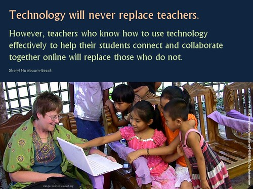 Technology will never replace teachers from sheryl nussba