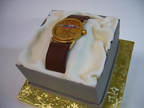 How To Make A Wrist Watch Cake