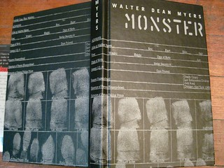 Walter Dean Myers MONSTER without half jacket | by firstsecondbooks