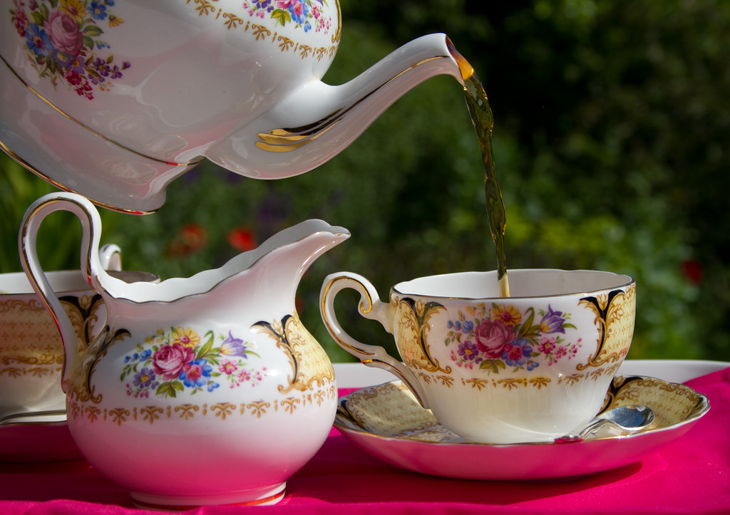tea in the garden flickr. Black Bedroom Furniture Sets. Home Design Ideas