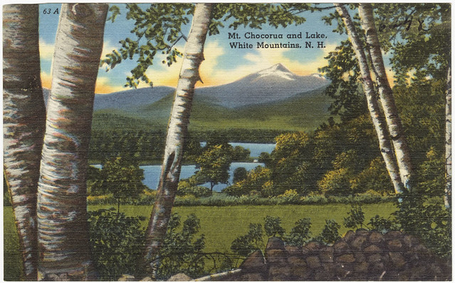 chocorua online dating The other day i learned that he put up an online dating profile- wth  and mount chocorua for its noble profile and for the legend of the defiant pequawket indian.
